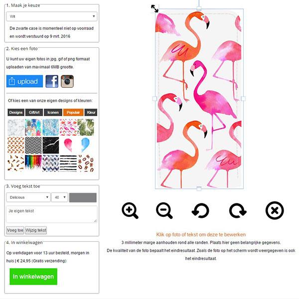 coque personnalisée iPhone 5, 5S & SE à rabat