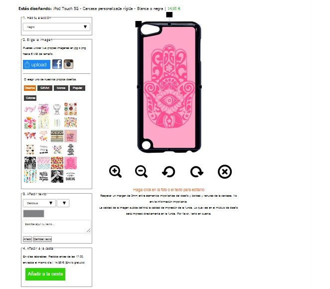 coque rigide personnalisée iPod touch 5