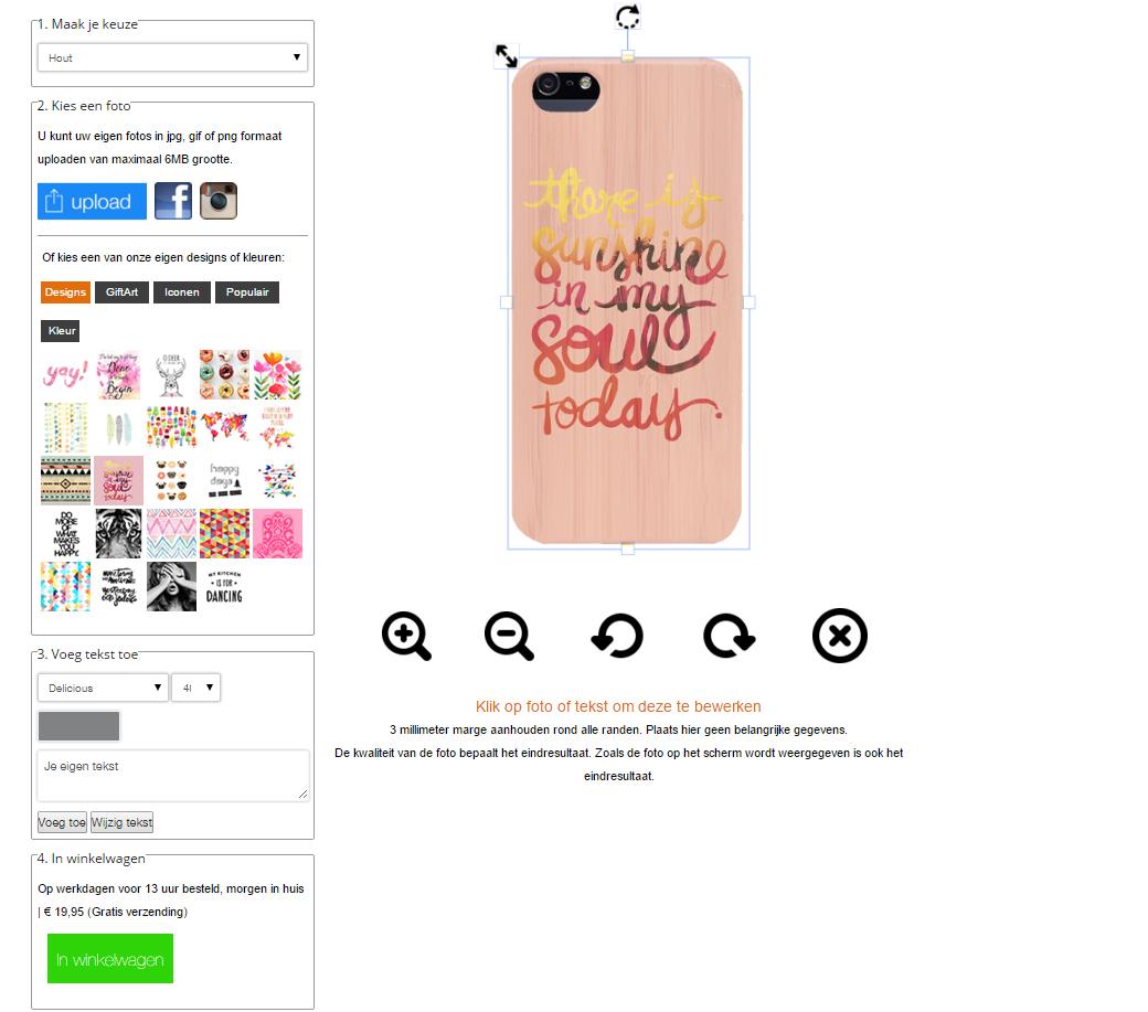 coque personnalisée iphone 5(S) et iphone SE