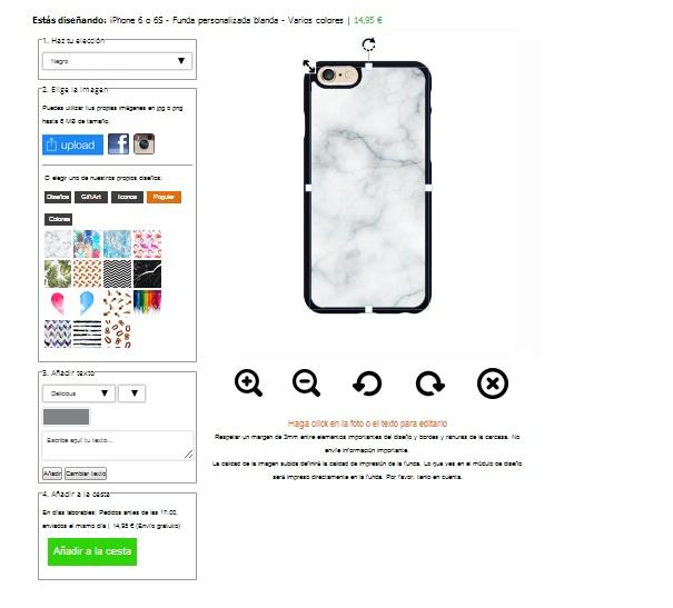coque personnalisée iPhone 6 en silicone