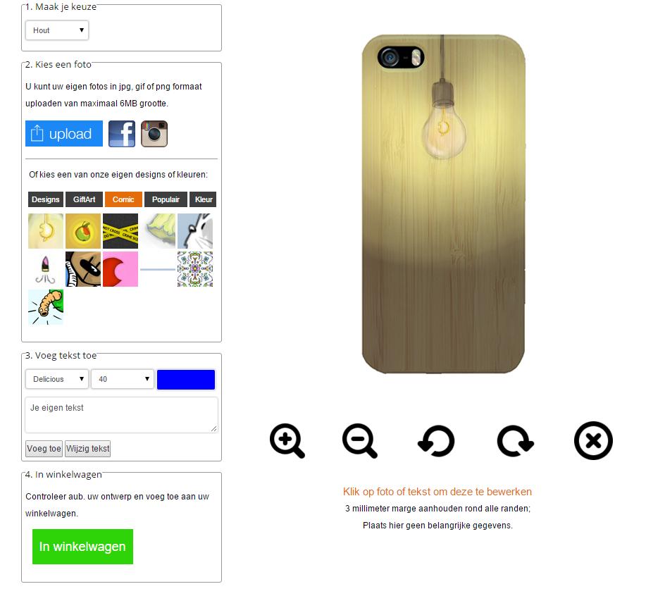 coque personnalisée iPhone 6S