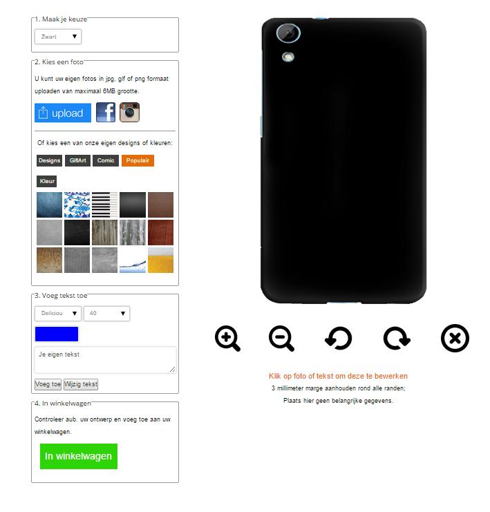 coque personnalisée HTC Desire 820