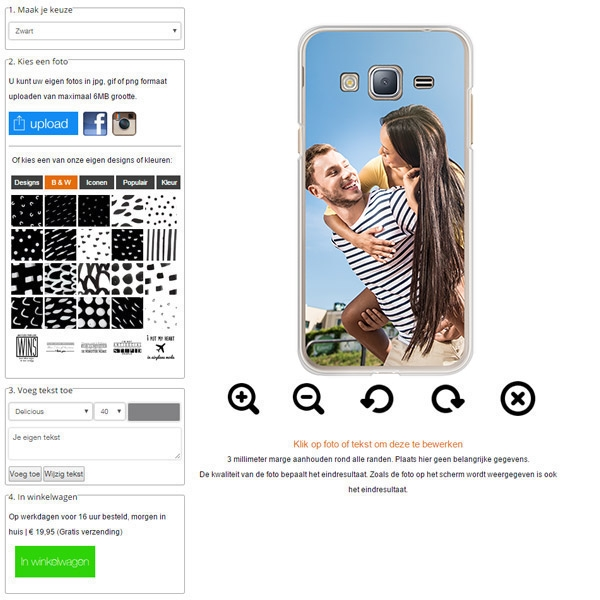 coque personnalisée Samsung Galaxy J3
