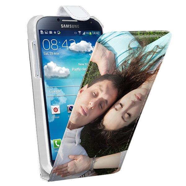coque personnalisée Samsung Galaxy S4 à rabat