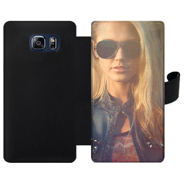 Coque portefeuille personnalisée Galaxy S6 Samsung