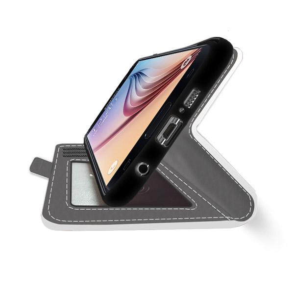 coque personnalisée Galaxy S6, coque portefeuille