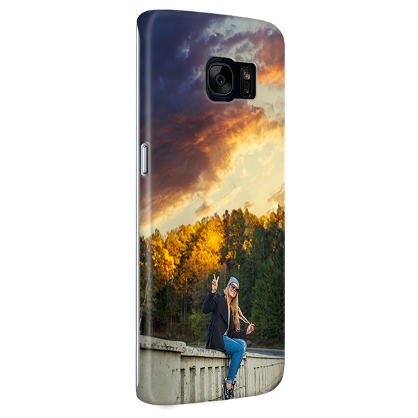 Coque personnalisée Galaxy S7 Edge sublimation 3D impression sur la tranche