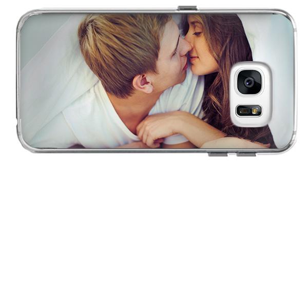coque personnalisée Galaxy S7 Edge en silicone