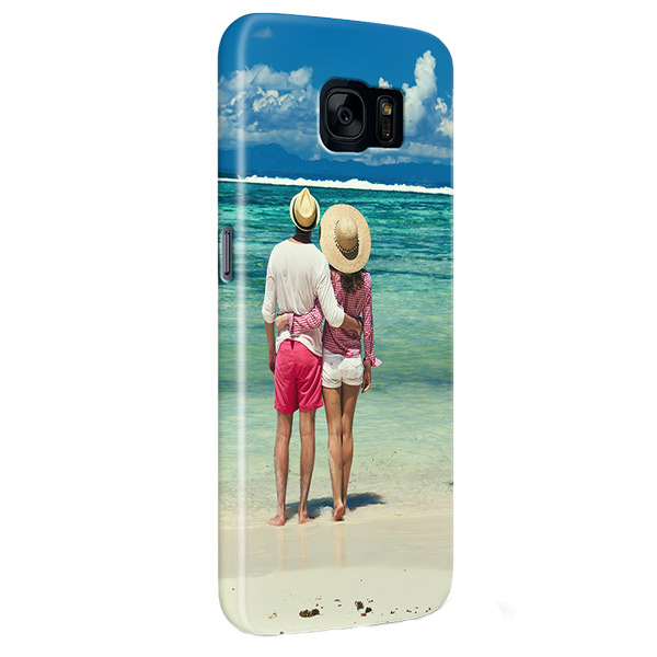 Coque personnalisée Galaxy S7 sublimation 3D impression sur les côtés