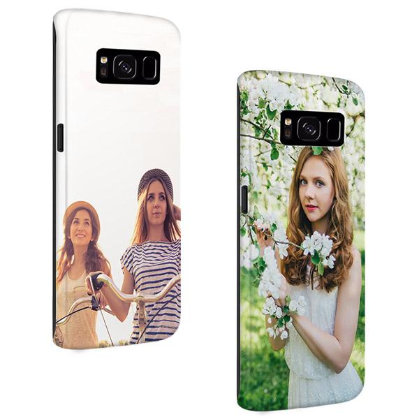 Coque personnalisée Samsung Galaxy S8 impression sur les contours