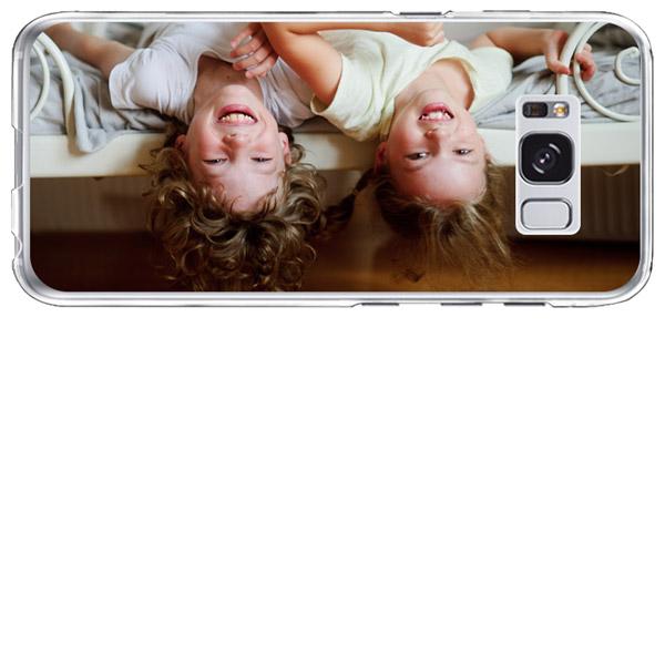 coque personnalisée Galaxy S8+ en silicone