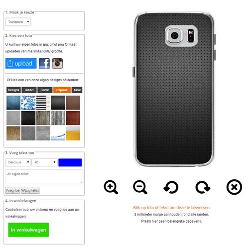 coque personnalisée Galaxy S6 edge