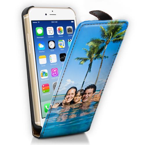 coque personnalisé iPhone 6 à rabat avec photo