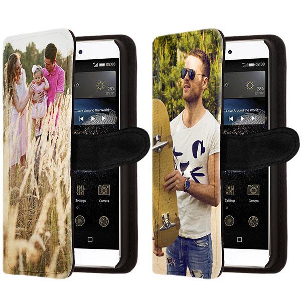 Coque portefeuille Huawei P8 personnalisée