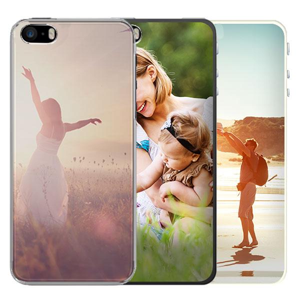 iPhone 5, 5S et SE coque personnalisable silicone