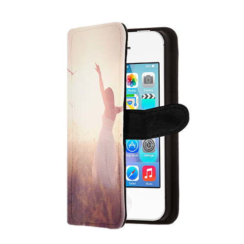 Coque personnalis e portefeuille iphone 4 4s i photo for Coque iphone 6 portefeuille