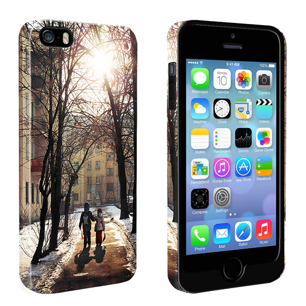 Coque personnalisable renforcu00e9e iPhone 5, 5S ou iPhone SE.