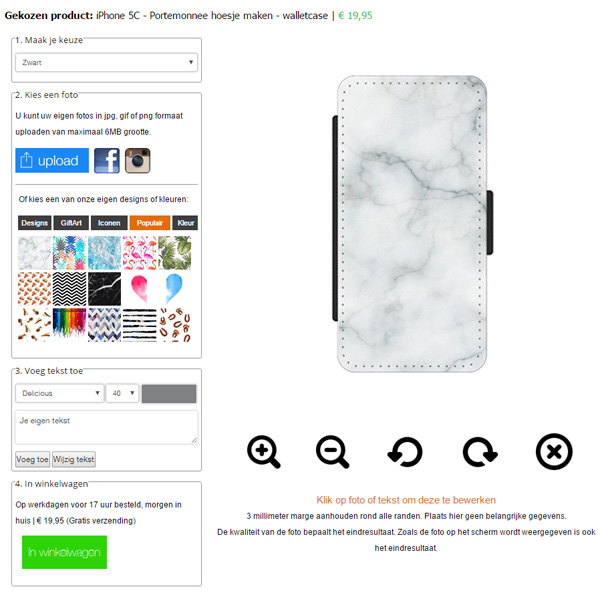 coque personnalisée iphone 5c