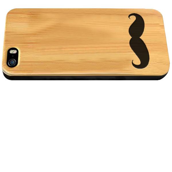 coque en bois iPhone 5, 5S ou SE gravée