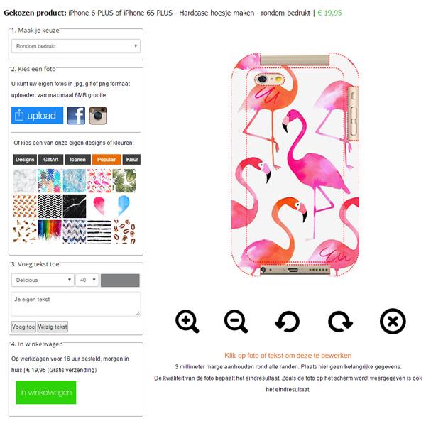 coque personnalisée iPhone 6S sublimation 3D