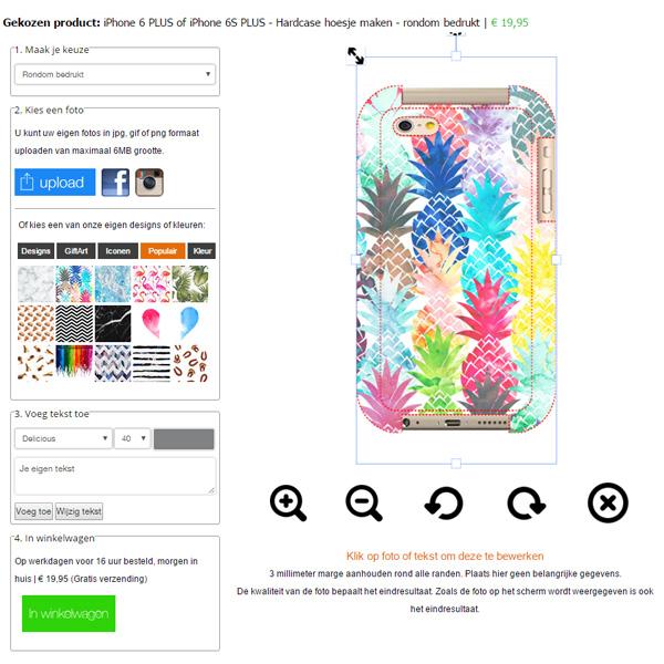 coque personnalisée iPhone 6 PLUS