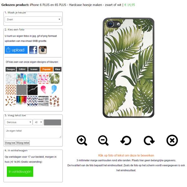 Coque personnalisée iPhone 6s plus et 6 plus