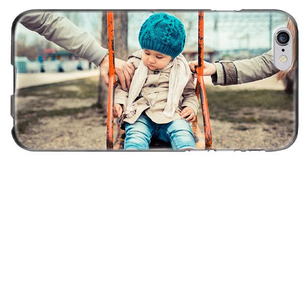 coque personnalisée iPhone 6 souple en silicone