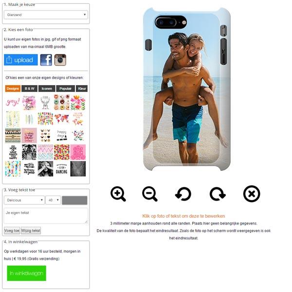 coque personnalisée iPhone 7 plus sublimation 3D