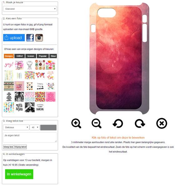 coque personnalisée iPhone 7 sublimation 3D