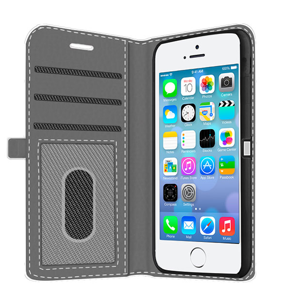 Coque personnalis e portefeuille iphone 5 5s se for Coque iphone 6 portefeuille