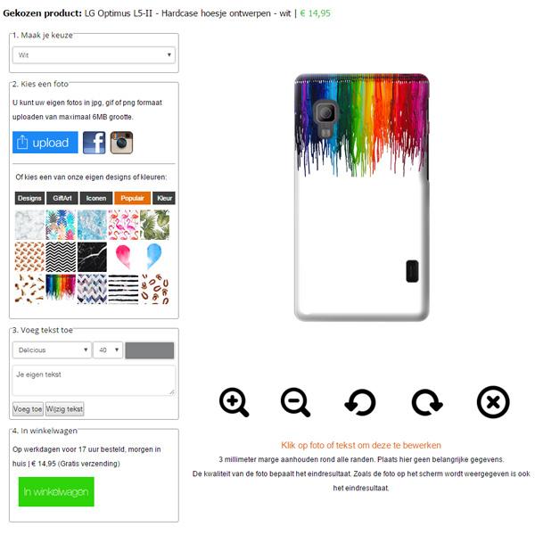 Coque personnalisée LG Optimus L5