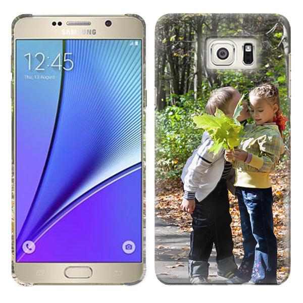 Coque personnalisée Samsung Galaxy note 5 impression sur la tranche
