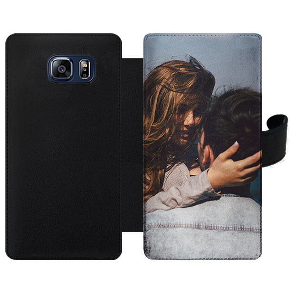 Coque portefeuille personnalisée Samsung Galaxy S6 Edge Plus