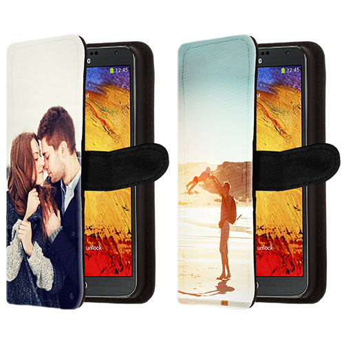 coque portefeuille personnalisée Samsung Galaxy Note 3