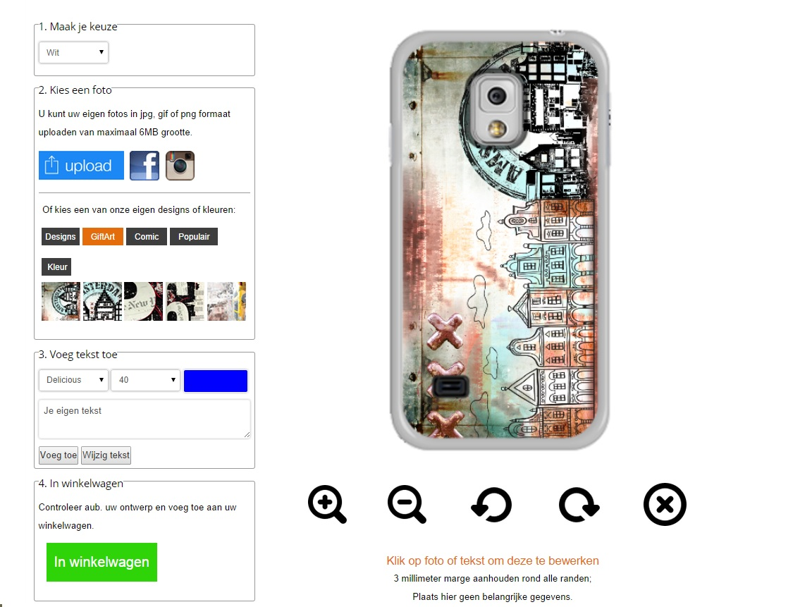Coque personnalisée Galaxy S5 Mini Samsung