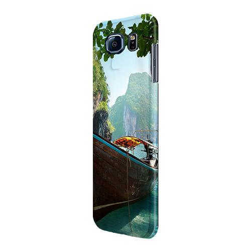 Coque personnalisée Galaxy S6 sublimation 3D impression sur les côtés