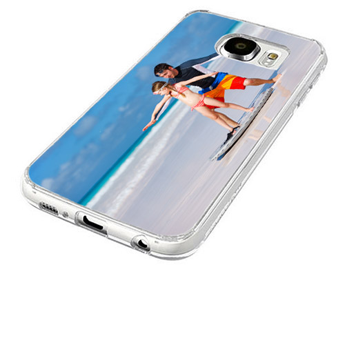 coque personnalisée Galaxy S6 en silicone