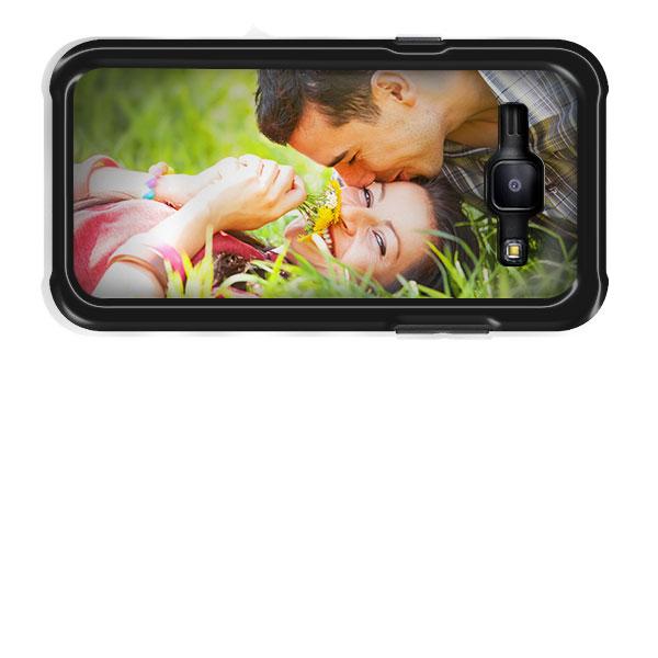Coque personnalisée Samsung Galaxy J1 impression sur les contours