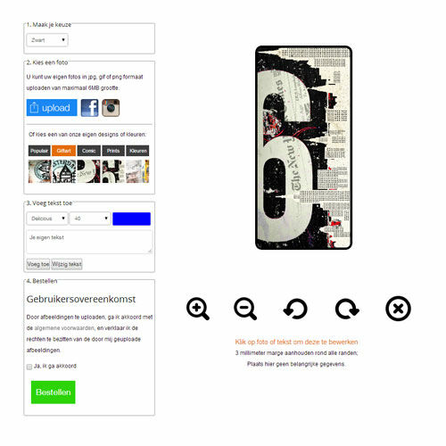 coque personnalisée Samsung Galaxy S4, coque portefeuille
